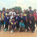 カンボジアで僕にとって最初の試合がありました。-Swim competition in Cambodia-