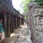 アンコールワット遺跡群を一人旅 -Traveling to Siem Reap-