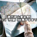 【旅行初心者必見】New York 1人旅(出発するまで編)